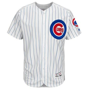 Men's Chicago Cubs Majestic HOME White Flexbase Authentic Collection Team Jersey