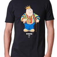Rook King Peter T-Shirt - Mens Tee - Black
