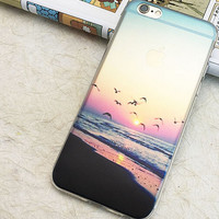 Beautiful Seagull iPhone 5S 6 6S Plus Case + Free Gift Box