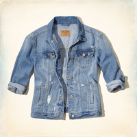 Bay Shore Boyfriend Denim Jacket
