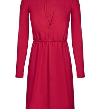 petal nursing dress  long sleeves