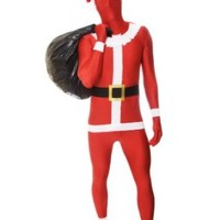 Morphsuits Premium Santa  M, Red / White / Black, Medium