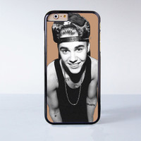 Justin Bieber  Plastic Case Cover for Apple iPhone 6 6 Plus 4 4s 5 5s 5c