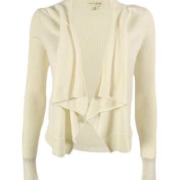 Maison Jules Women's Cropped Cardigan Sweater