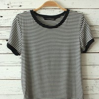 Isabel Striped Tee