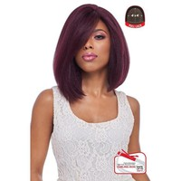4x4 MULTI PARTING LACE WIG, SWISS SILK BASE LACE NATURAL LOOSE WAVY (FLS08)