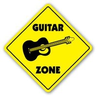 GUITAR ZONE Sign new acoustic player strings gift