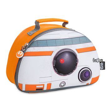 Licensed cool Star Wars The Force Awakens BB-8 droid robot Lunch Box Bag Tote Disney Store