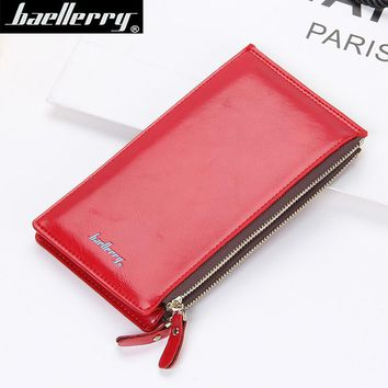 Brand Women Wallet Slim Long Designer Famous Female Clutch Bag Ladies Coin Money Women's Purse Cuzdan Wristlet Wallet Cartera LZ