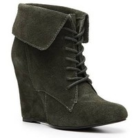 SM Luxe Dare Wedge Bootie