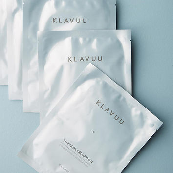 Klavuu White Pearlsation Enriched Divine Pearl Serum Mask Set