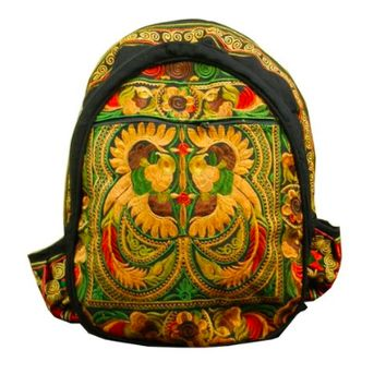 Thai Hill Tribe Embroidered Backpack