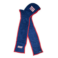 New York Giants NFL Ultra Fleece Hoodie Scarf