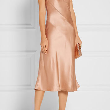 Cushnie et Ochs - Rosie silk-charmeuse midi dress