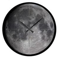 Lunar Magnificence Large Clock