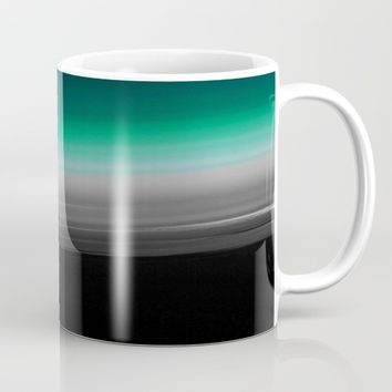 Teal Gray Ombre Mug by 2sweet4words Designs