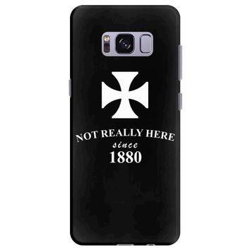 not really here tumblr gift present 1880 Samsung Galaxy S8 Plus
