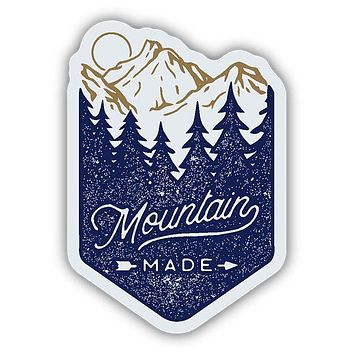 Mountain Made Sticker