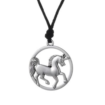 Viking Unicorn Necklace