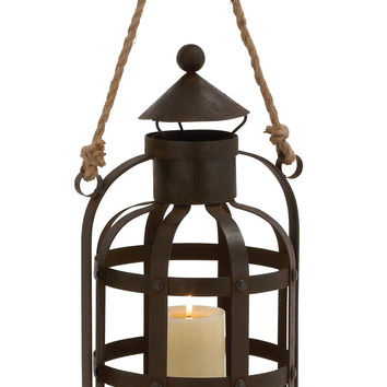 The Timeless Metal Rope Candle Holder