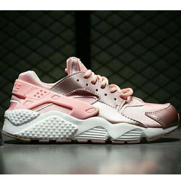 onetow One-nice? NIKEAIR Huarache Women Men Running Sport Casual Shoes Sneakers Pink I-HAOXIE-ADXJ
