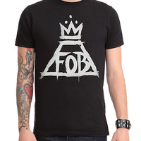 Fall Out Boy Crown Logo T-Shirt