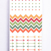 Chevron Polkadot for Iphone 5C Hard Cover Plastic