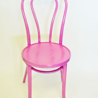 Thonet bentwood chair {Pink Beauty}