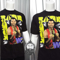 Rare Vintage 1993 Razor Ramon T-shirt WWF Wrestling wcw Scott Hall NWO 90s Clothing WWE Wrestling Tshirt Kevin Nash The Outsiders wwf shirt