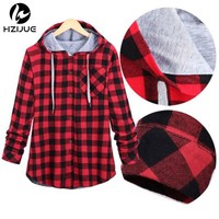Fall Winter Men Women plaid hoodies patchwork hooded sweatshirt Hip Hop Hoodies Men streetwear harajuku Men hoodie Oversize