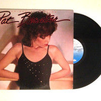 Vinyl LP Pat Benatar Crimes Of Passion Vinyl Record 1980 Wuthering Heights You Better Run
