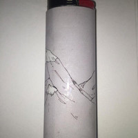 The Mountains Are Calling custom BIC lighter