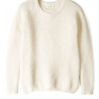 Alpaca Knit Textured Jumper by American Vintage