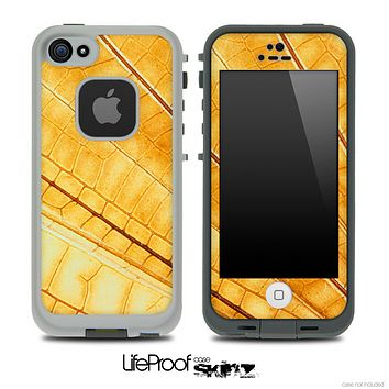 Gold Wing Skin for the iPhone 5 or 4/4s LifeProof Case