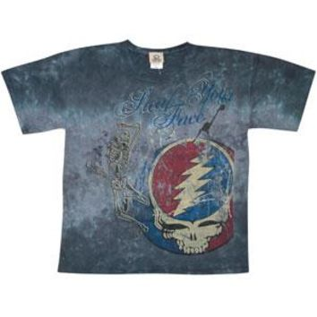 Grateful Dead Men's  Half Step Tie Dye T-shirt Multi