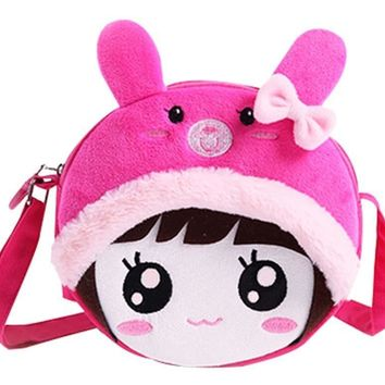 Princess Messenger Bag Kindergarten Children Shoulder Bag Cute Backpack Gift