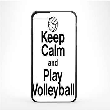 Keep Calm Play On Volleyball Iphone 6 Plus | 6s Plus Case