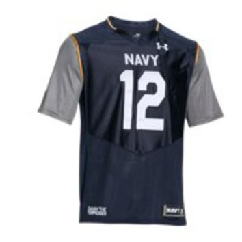 Under Armour Men's Navy UA Damn The Torpedoes Premier Jersey
