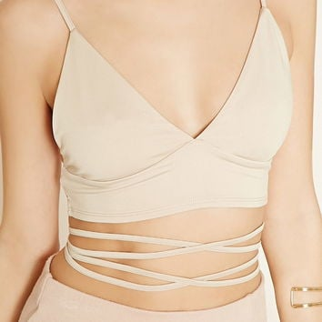 Strappy-Waist Cropped Cami | Forever 21 - 2000171697