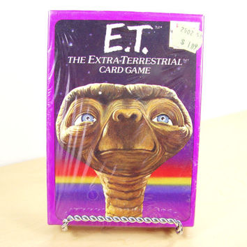 1982 E.T. Card Game by Parker Brothers (NOS)