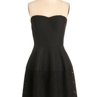 ModCloth LBD Mid-length Strapless