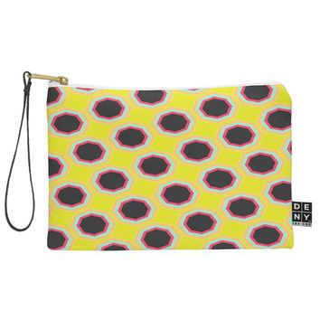Allyson Johnson Neon Pattern Pouch