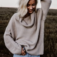 TBW: HER SWEATER (GRAY)