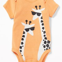 Graphic Jersey Bodysuit for Baby old-navy