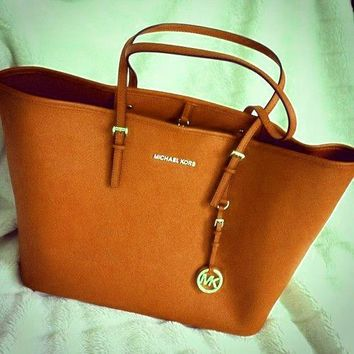 MICHAEL KORS  MK Women Shopping Leather Handbag Tote Satchel Shoulder Bag G