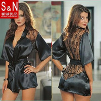Hot sale new 2015 sexy Lingerie Set backless lace plus size erotic lingerie Women Sexy Costume Sleepwear Nightwear YP12