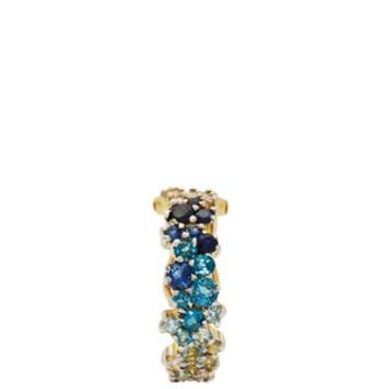 Mirian 18kt gold, diamond & sapphire ear cuff | Ana Khouri | MATCHESFASHION.COM US