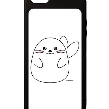 Cute Seal iPhone 5C Grip Case  by TooLoud