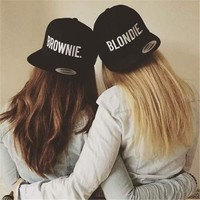 Blondie Brownie Best Friend Snapbacks