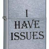 Zippo I Have Issues Lighter